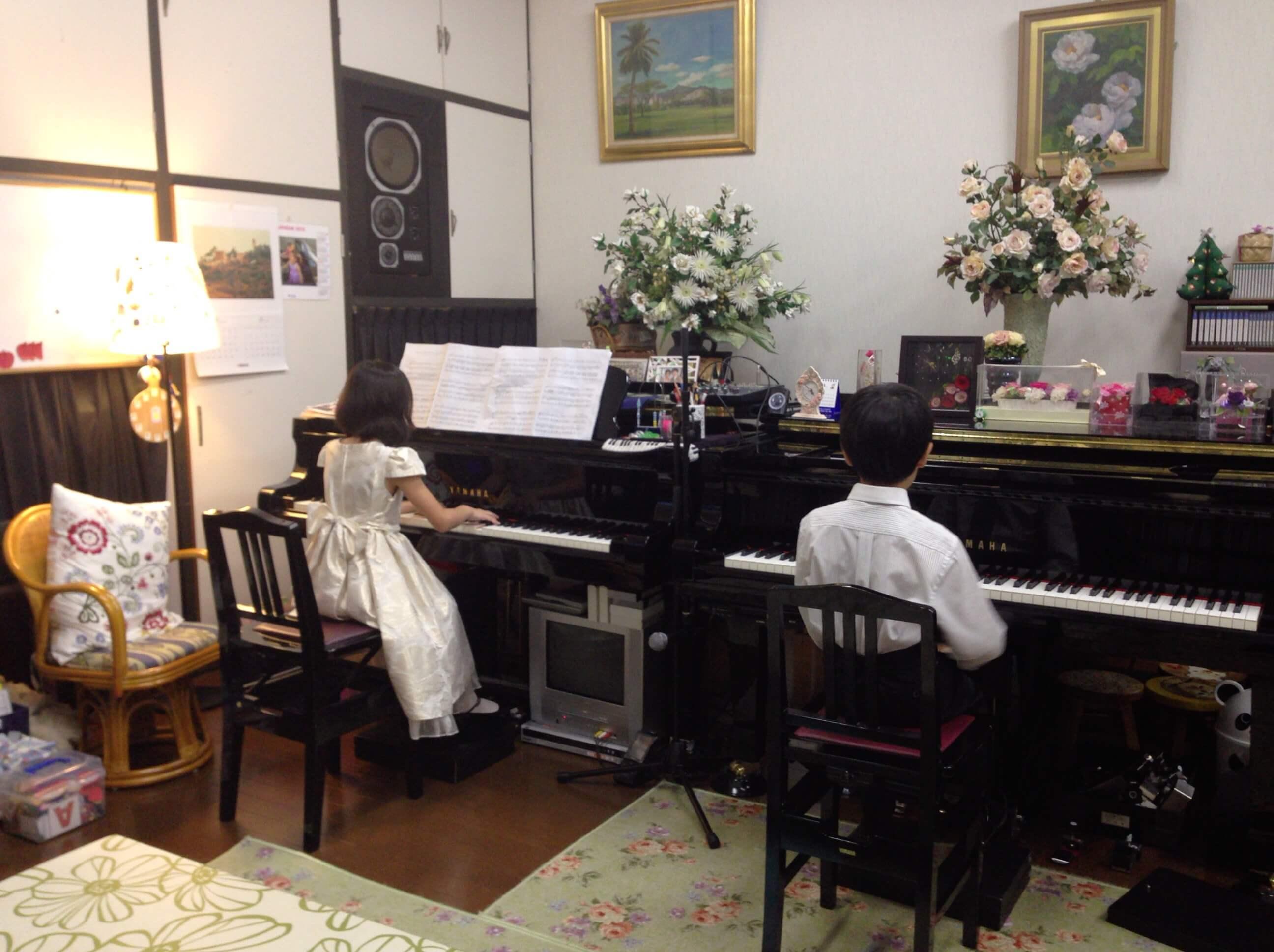 2台ピアノ2