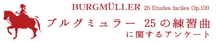 ブルグミュラーアンケート