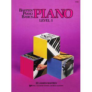 英語版 ベーシックス ピアノ レベル1