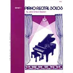 ピアノ リサイタル ソロ    レベル1